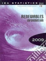 Renewables Information 2009 libro in lingua di Organization for Economic Cooperation an (COR)