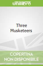 Three Musketeers libro in lingua di Alexandre Dumas