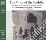 The Voice of the Buddha (CD Audiobook) libro in lingua di Kulananda (COM), Kulananda (NRT), Lesser Anton (NRT), Barrett Sean (NRT)