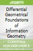Differential Geometrical Foundations of Information Geometry