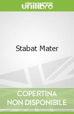 Stabat Mater libro in lingua di Karl Jenkins