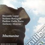 Riccardo Luppi / Stefano Battaglia / Paolino Dalla Porta / Anthony Moreno - Mnemosine cd musicale di Luppi/battaglia/dall