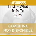 Finch - What It Is To Burn cd musicale di FINCH