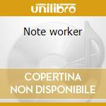 Note worker cd musicale