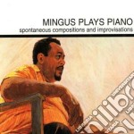 MINGUS PLAYS PIANO cd musicale di Charles Mingus