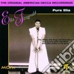 PURE ELLA cd musicale di Ella Fitzgerald