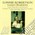 Lonnie Robertson - Lonnie'S Breakdown cd musicale di Robertson Lonnie