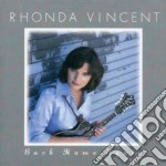 Back home again - cd musicale di Rhonda Vincent
