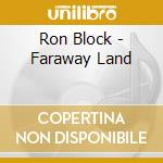 Faraway land - krauss alison cd musicale di Block Ron