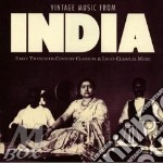 Vintage music from india - cd musicale di Artisti Vari