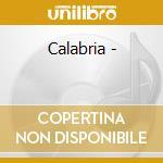 Calabria - cd musicale di Italian treasury (alan lomax)