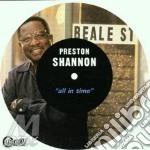 Preston Shannon - All In Time cd musicale di Preston Shannon