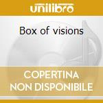 Box of visions cd musicale di Tom Russell