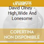 David Olney - High,Wide And Lonesome cd musicale di David Olney