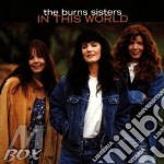 In this world - cd musicale di The burns sisters