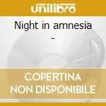 Night in amnesia - cd musicale di David tronzo & reeves gabrels
