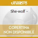 She-wolf - cd musicale di Jessie mae hemphill