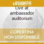 Live at ambassador auditorium cd musicale di Ken Peplowski