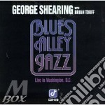 Blues alley jazz cd musicale di George Shearing