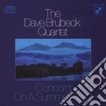 Concord on a summer night/quar cd musicale di Dave Brubeck