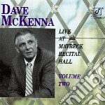 Dave Mckenna - Live At Maybeck Volume 2 cd musicale di Dave Mckenna