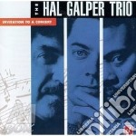 Invitation to a concert /trio cd musicale di Hal Galper