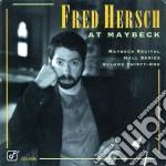 Maybeck recitall hall vol.31 cd musicale di Fred Hersch