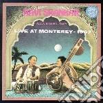 Live at monterey - 1967 cd musicale di Ravi Shankar