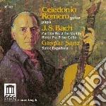 Partita bwv 1004; suite bwv 1009 cd musicale di Johann Sebastian Bach