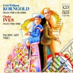 Trio per pianoforte op.1 cd musicale di Korngold erich wolf