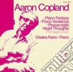 Fantasia per pianoforte, passacaglia, ni cd musicale di Aaron Copland