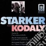 Musica per violoncello cd musicale di Zoltan Kodaly