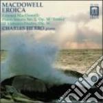 Sonata eroica in sol minore, 12 studi op cd musicale di Edward Macdowell
