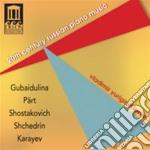 Musica per pianoforte russa del xx secol cd musicale di Miscellanee