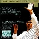 Sinfonia n.40 k 550, n.41 k 551 cd musicale di Wolfgang Amadeus Mozart