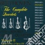 Quartetti x archi vol.2 (integrale): n.2 cd musicale di BEETHOVEN LUDWIG VAN