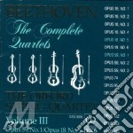 Quartetti x archi vol.3 (integrale): n.1 cd musicale di BEETHOVEN LUDWIG VAN