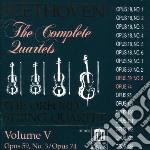 Integrale dei quartetti per archi vol.5: cd musicale di Beethoven ludwig van