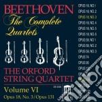 Integrale del quartetti per archi vol.6: cd musicale di Beethoven ludwig van
