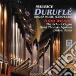 Integrale della musica per organo cd musicale di Maurice Durufle'