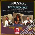 Trio per pianoforte n.1 op.32 cd musicale di Arensky anton stepa