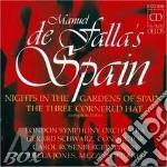 Notti nei giardini di spagna, il cappell cd musicale di FALLA EMANUEL DE