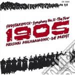 Sinfonia n.11 op.103 'the year 1905' cd musicale di Dmitri Sciostakovic