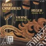 Sonata x organo n.2 op.60 cd musicale di Max Reger