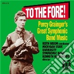 Percy grainger's great symphonic band mu cd musicale di Percy Grainger