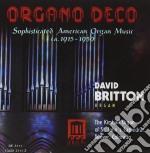 Organo deco - musica per organo american cd musicale di Miscellanee