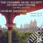 Serenata op.44 b77, quintetto per archi cd musicale di Antonin Dvorak