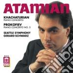 Aram Khachaturian - Concert Per Pianoforte cd musicale di Aram Khachaturian