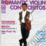Romantic violin concertos: concerto per cd musicale di Karl Goldmark