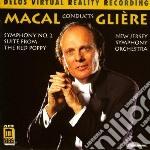 Sinfonia n.2; suite da balletto op.70 cd musicale di Gliere